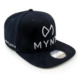 MYNT No.1 Golfcap in Dunkelblau mit Weiss