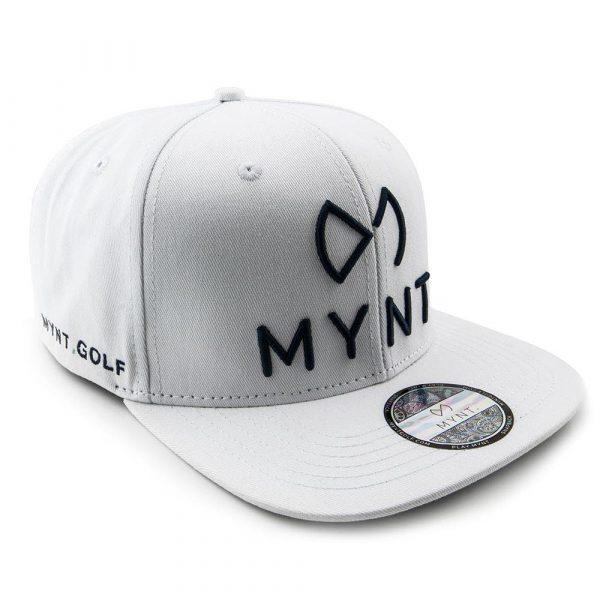 MYNT No.1 Golfcap in Weiss mit Dunkelblau