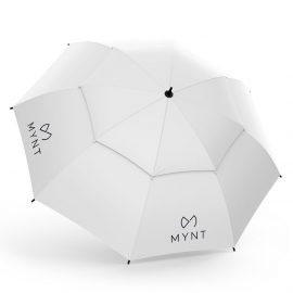 MYNT ProRain Regenschirm Grauweiss
