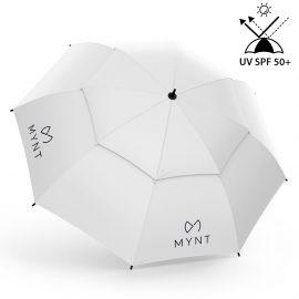 MYNT ProRain Regenschirm Grauweiss mit UV-Schutz